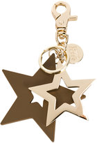 See by Chloe Star charm keyring - women - PVC/zamac - One Size