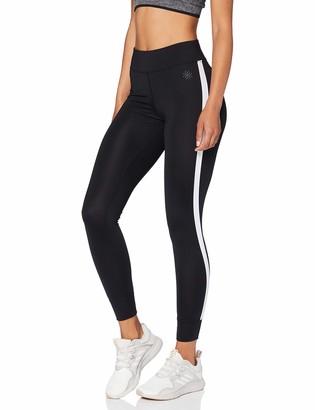 Amazon Brand - AURIQUE Women's Side Stripe Sports Leggings