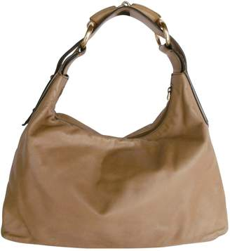Gucci Hobo Camel Leather Handbags