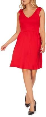 Dex Bow Mini Dress