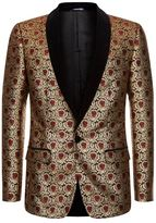 Dolce & Gabbana Velvet Jacquard Suit Jacket