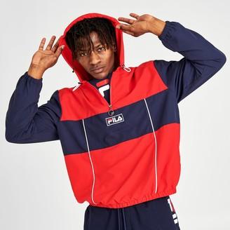 Fila Men's Europa Half-Zip Windbreaker Jacket