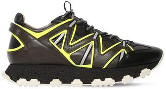 Lanvin Chunky Leather Sneakers