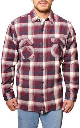 Freedom Foundry Plaid Flannel Regular Fit Shirt