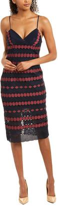 Bardot Diamond Lace Dress