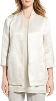 Eileen Fisher Women's Long Organic Cotton & Silk Jacket