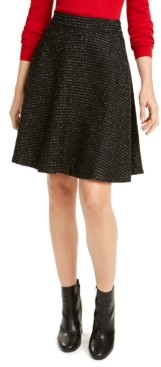 Maison Jules Tweed A-Line Skirt, Created for Macy's