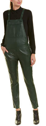 Zadig & Voltaire Sydney Leather Overall