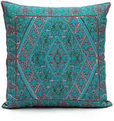 Karma Living Blue Geometric Throw Pillow