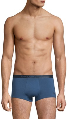 Emporio Armani Logo Cotton-Blend Boxer Briefs