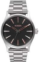 Nixon Men's A4502064 Sentry 38 SS Analog Display Analog Quartz Watch
