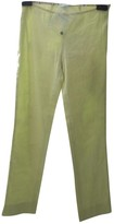 Emilio Pucci Green Cotton Trousers for Women Vintage