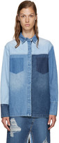 Sjyp Blue Multidenim Shirt