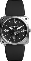 Bell & Ross BR-S black steel automatic watch