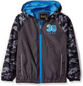 iXtreme Big Boys Camo Spring Windbreaker Jacket with Mest Lining