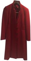 Max Mara classic red mid length coat