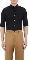 Balenciaga Men's Shrunken Cotton Western Shirt