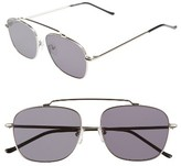 Spitfire Women's Beta Matrix Aviator Sunglasses - Silver/ Black