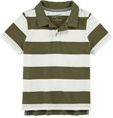 Arizona Short-Sleeve Solid Polo - Toddler Boys 2t-5t
