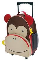 Skip Hop Zoo Little Kid & Toddler Rolling Luggage, Monkey