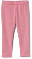 Gap Starry cozy fleece leggings