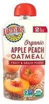 Earth Earth's Best Organic Stage 2 Apple Peach Oatmeal Baby Food 4.2 oz
