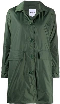 Aspesi Albanella button-through coat