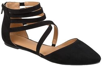 Journee Collection Comfort Foamtm Marlee Flat (Black) Women's Shoes