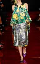 Rochas Pencil Skirt In Jaquard Lurex Inside Out