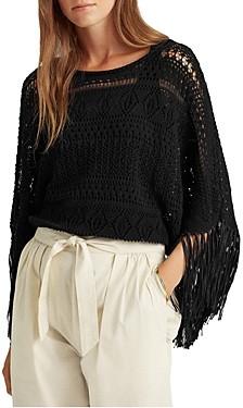 Ralph Lauren Ralph Kaitana Fringe Sweater