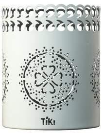 TIKI Brand Clean Burn Lantern Tabletop Torch TIKI Brand Color: White