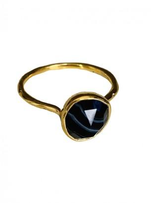 Monica Vinader Black Gold plated Rings