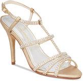 Caparros Groovy Embellished Evening Sandals