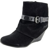 Blowfish Beryl Round Toe Synthetic Bootie.