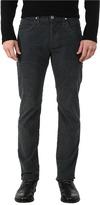 Hudson Blake Slim Straight Jeans in Tarnished Steel