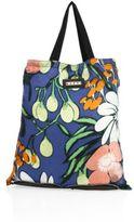 Marni Floral-Print Silk Shopping Bag