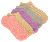 Famous Footwear Women's 5 Pack Space Dye No Show Socks