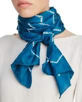 Eileen Fisher Tie Dye Silk Scarf
