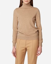 N.Peal Polo Neck Cashmere Sweater