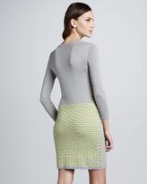 Cut25 Fish Scale Knit Dress