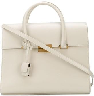 Saint Laurent Structured Tote Bag
