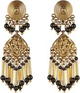 Etro Embellished medallion earrings