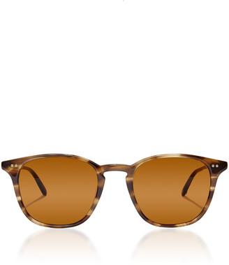 Garrett Leight Clark 49 D-Frame Tortoiseshell Acetate Sunglasses