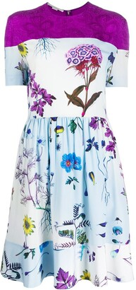 Stella McCartney Panelled Floral-Print Dress