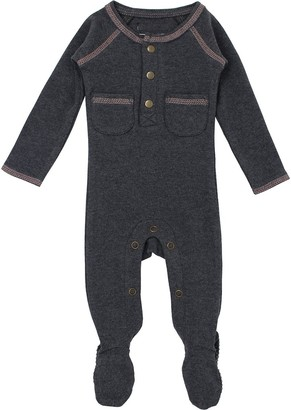 L'ovedbaby L'oved Baby Chaulkboard Pocket Footed Overall - Infants'