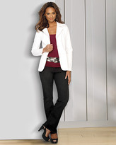 Signature Stretch Piqué Collection: Fitted Blazer