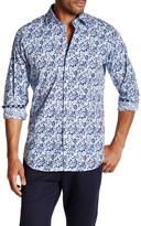 Tailorbyrd Long Sleeve Printed Regular Fit Shirt