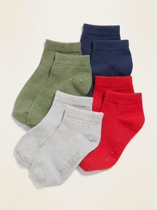 Old Navy Unisex Ankle Socks 4-Pack for Toddler & Baby