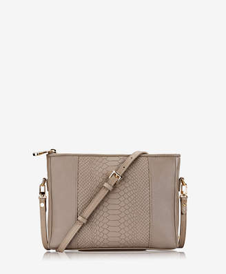 GiGi New York Hailey Crossbody, Acai Embossed Python