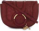 See by Chloe Hoop suede saddle bag